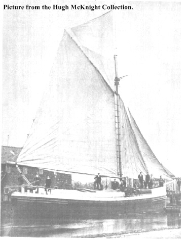 A Humber Sloop At Dunstons